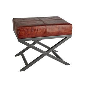 image-Criss Cross Dressing Table Stool Industville