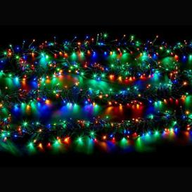 image-2000 LED Multicolour Outdoor Animated Cluster Fairy Light Mains 16m