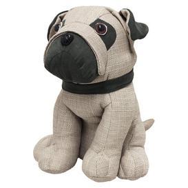 image-Pug Dog Fabric Door Stop Brambly Cottage