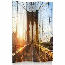 image-Redfield 3 Panel Room Divider Borough Wharf