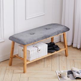 image-Georgiana Upholstered Storage Bench