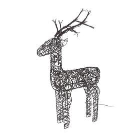image-A by AMARA Christmas - Outdoor Wicker Deer Ornament - Small