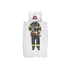 image-Snurk Childrens Firefighter Duvet Bedding Set