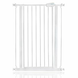 image-Tall Safety Gate Symple Stuff Colour: White, Size: 100.8cm - 108.4cm