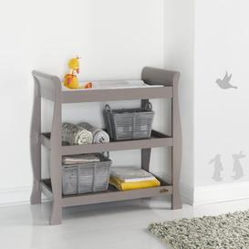 image-Stamford Open Changing Table Obaby Colour: Taupe Grey