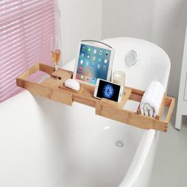 image-Colletti Luxury Bridge Extendable Bath Rack Symple Stuff