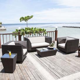 image-Alexander Rose Ocean Bronze Garden Maldives 2 Seater Sofa Lounge Set
