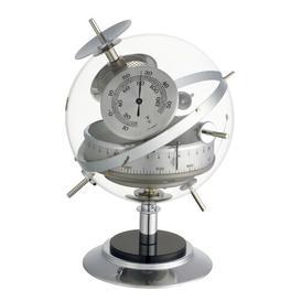 image-Sputnik Ornament Weather Station Longshore Tides Colour: Chrome