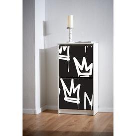 image-Motiv 290 Crowns 8 Pair Flip Down Shoe Storage Ebern Designs