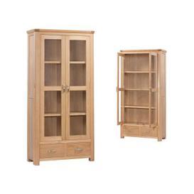 image-Treviso Oak Display Cabinet
