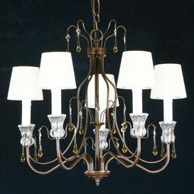 image-Deck 5-Light Shaded Chandelier Astoria Grand