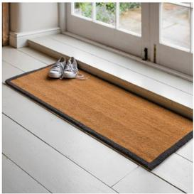 image-Double Doormat with charcoal boarder
