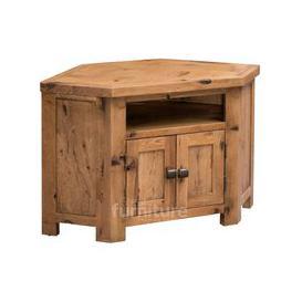 image-Kingsley Solid Oak Corner TV Cabinet