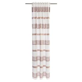 image-Gladeview Tab top Semi-Sheer Curtains Mercury Row Colour: Rose