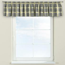 image-Brooklyn Curtain Pelmet Dekoria Size: 390cm W x 40cm L, Colour: Yellow/Black
