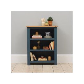 image-Westcote Blue Small Bookcase