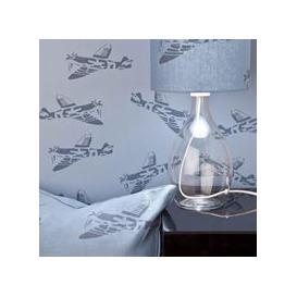 image-Designer Kids Wallpaper- 'Spitfire' in Blue