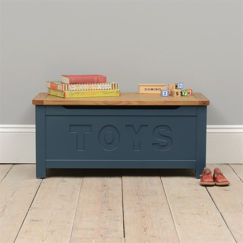 image-Westcote Blue Toy Box