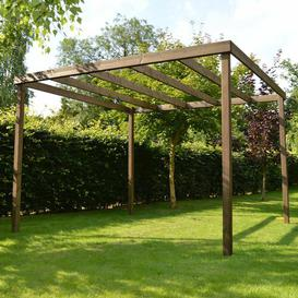 image-Randi Manufactured Wood Pergola Sol 72 Outdoor