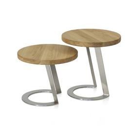 image-Vinehill Side Table August Grove Size: 50cm H x 50 cm B x 50 cm T