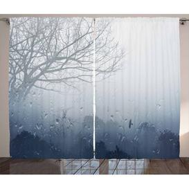 image-Wald Pencil Pleat/Tab Top Blackout Thermal Curtains East Urban Home Maße pro Stück: 245cm H x 140cm W