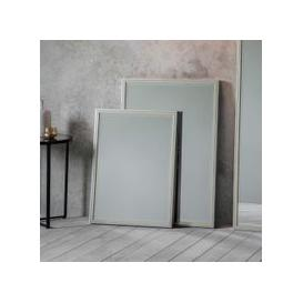 image-Gallery Direct Floyd Pewter and Champagne Gold Leaner Mirror - W 50cm