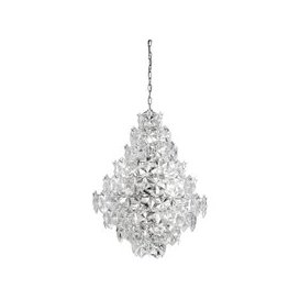 image-11 Lights Pendant Ceiling Light With Acrylic Detail Trim