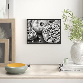 image-Pomegranate Framed Art Print