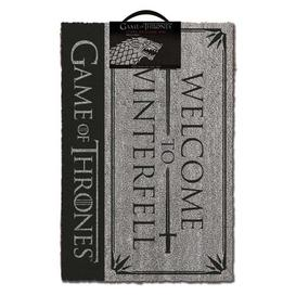 image-Haxby Welcome to Winterfell Doormat Happy Larry