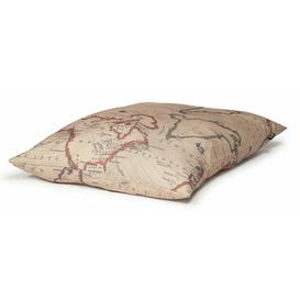 image-Vintage Maps Deep Duvet Danish Design Size: Large (24 cm H x 76 cm W x 127 cm D)