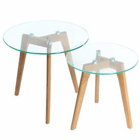 image-Cerys 2 Piece Nest of Tables Norden Home