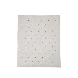 image-Mamas & Papas Knitted Blanket (70X90Cm) - Spot