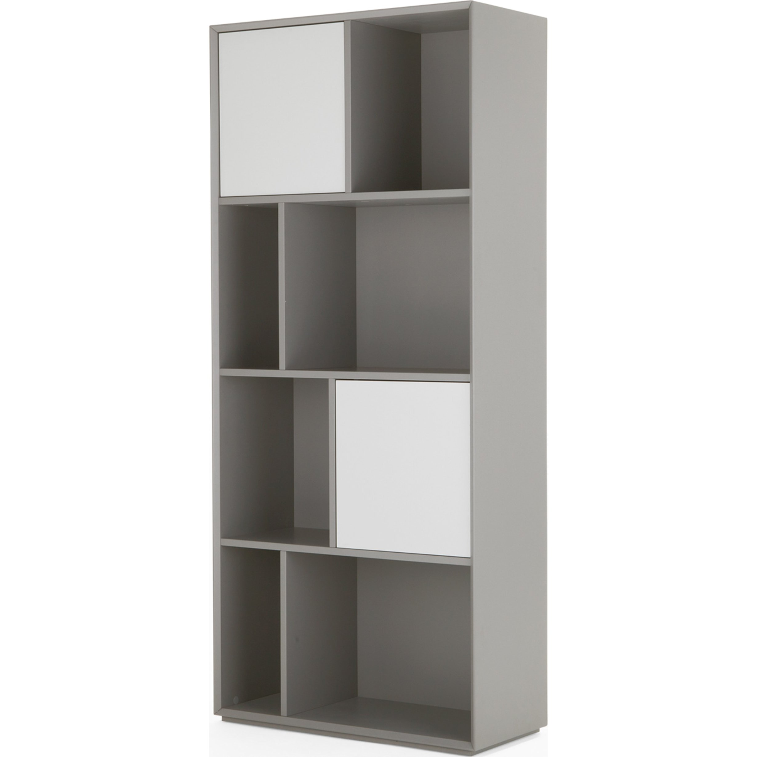 image-Stretto Tall Shelves, Grey