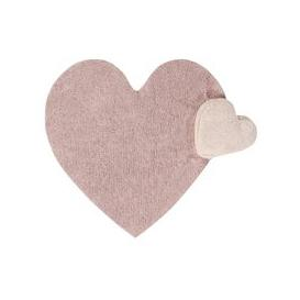 image-Lorena Canals Puffy Love Heart Shaped Kids Rug