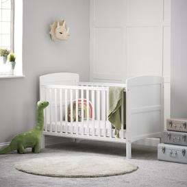 image-Grace Cot Bed with Fibre Mattress Obaby
