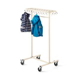 image-Mobile coat rack for children ORKAN, beige