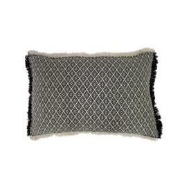 image-Tangier Cushion Black and White