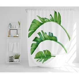 image-Kerra Polyester Shower Curtain Set Bay Isle Home Size: 177cm H x 210cm W