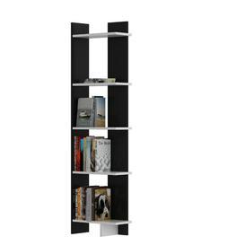image-Hutcherson Corner Bookcase Ebern Designs