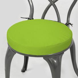 image-Dining Chair Cushion Dakota Fields Colour: Lime, Size: 4cm H x  33cm W x 33cm D