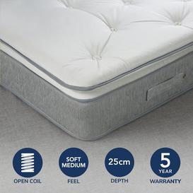 image-Fogarty Superfull Pillowtop Open Coil Mattress White