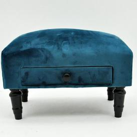 image-Karlyn Storage Ottoman Marlow Home Co. Upholstery Colour: Blue