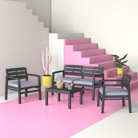 image-Anvi 4 Seater Sofa Set Hashtag Home