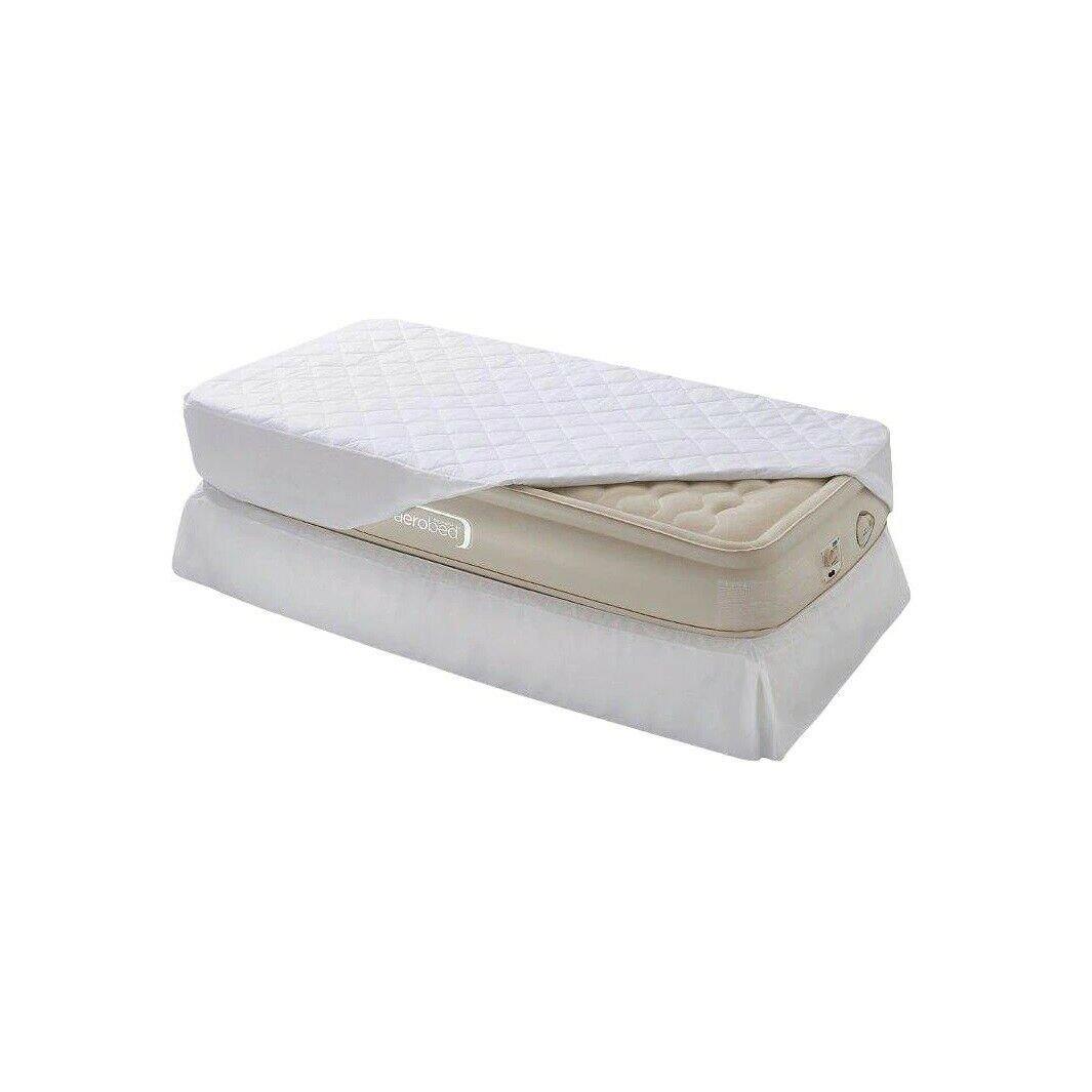 image-Aerobed Raised Single Air Bed Ultra Divan