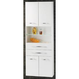image-Sceno 60 x 175.5cm Tall Bathroom Cabinet Fackelmann