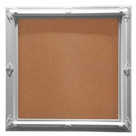 image-Cork Board Rosalind Wheeler Colour: White