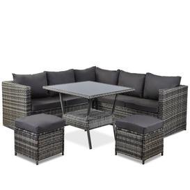 image-Kamalu 7 Seater Rattan Sofa Set Sol 72 Outdoor
