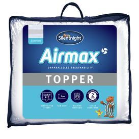 image-Silentnight Airmax Mattress Topper - Double