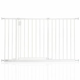 image-Bella Vista Pressure Mounted Pet Gate Archie & Oscar Colour: White, Size: 122cm-128cm