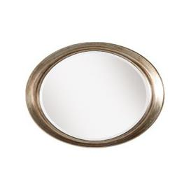 image-Elena Oval Wall Mirror in Champagne